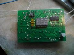 Repair of chips, microswitches, relay, regulators,