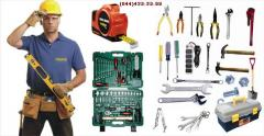 Complex delivery of tools of all types and types