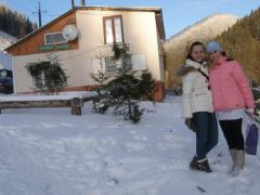 Новий Рік та Різдво в Карпатах.