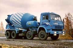 Services concrete and rastvorosmesitely