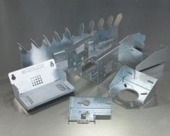 Services in laser cutting and punched hole of