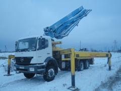 Services of the concrete pump of 36 m, Kiev