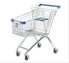 Repair of consumer carts for supermarkets
