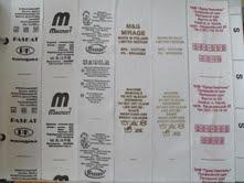 Составники ткани, бирки, этикетки, лейблы в