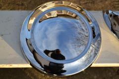 Chromizing of a cap of a wheel Gas 21.