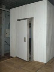 Construction of low-temperature chambers for