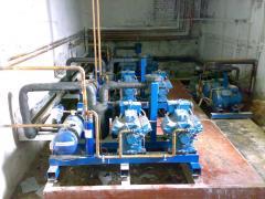 Installation of industrial refrigerating