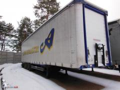 Sale of cargo semi-trailers on spare parts,