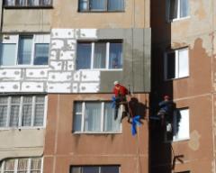 Фасадные работы,Герметизация стыков крупно панельных домов