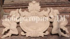 Woodcarving to order, ornament thread of products