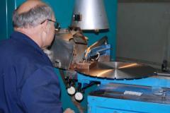 Напайка алмазных сегментов на диски (пилы)