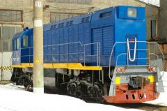 Modernization of a locomotive