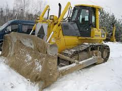Rent, hire of bulldozers, tractors, truck cranes