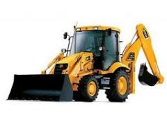 Lease of dump trucks, excavators, truck crane Kiev