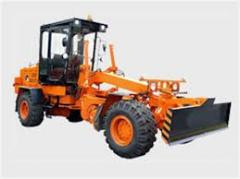 Lease of graders, the offer works across Kiev and
