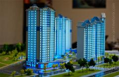 Изготовление макетов домов и зданий Киев