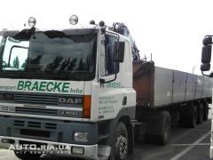 Services of the crane manipulator Kiev Long log