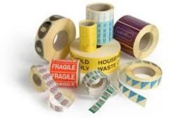 Флексопечать этикеток в рулонах,  полноцветна