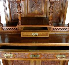 Restoration of furniture.