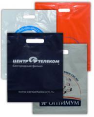 Изготовление полиэтиленовых пакетов с лого