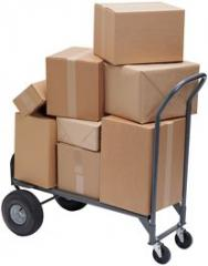 Delivery to Moscow of parcels, parcels pos