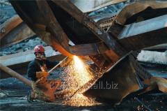Dismantle of metalwork