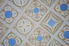 Art list - a ceiling list, acryle