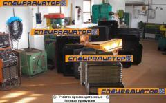 Радиаторы для спецтехники; ремонт, изготовление