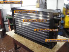 Production of the AHV-4-365 vibroinstallation of radiators of cooling of oil