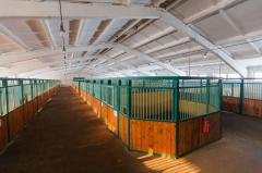 Rent of stalls for horses