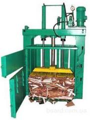 Maintenance of press for packing of paper, a