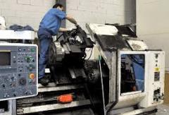 Capital repairs of the metalworking equipmen