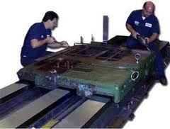 Capital repairs of machines, quickly, cheap