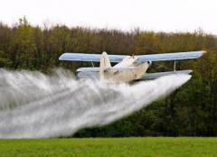 Услуги авиации в сельском хозяйстве.