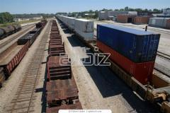 Coordination with the railroad of the shipping