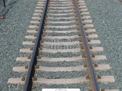 Laying of a railway track