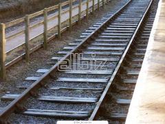 Введение железнодорожной колеи в эксплуатацию