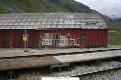 Строительство выгрузочных эстакад и железнодорожных рамп