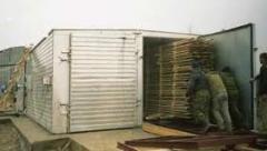 Камерная сушка древесины, Сушка древесины в сушильных камерах