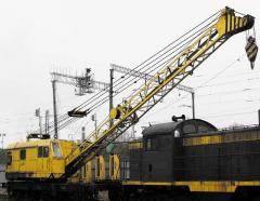 Repair of cranes on railway to KZh-561 course