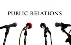 Услуги представителя по связям с общественностью