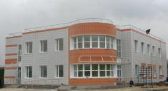 Installation of the ventilated facades