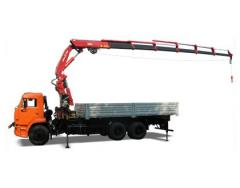 Services of trucks, services of a dlinnomer