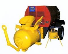 Repair of pneumosuperchargers