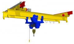 Repair crane beams