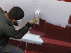Obmazochny waterproofing on a polyurethane basis