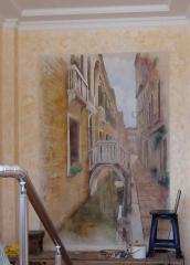 Роспись стен, фреска