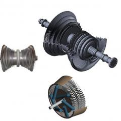 Repair and service of steam turbines of different