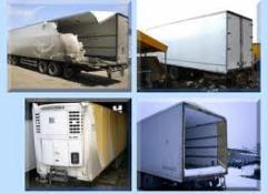 Ремонт грузовых автомобилей и фургонов под заказ,