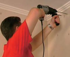Installation, installation of eaves,